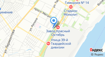 Следственный отдел по Краснооктябрьскому району Следственного управления Следственного комитета России по Волгоградской области на карте