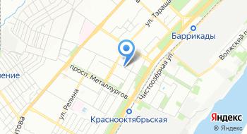 Спортивная школа №21 на карте