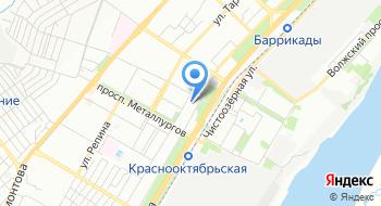 УФМС, отдел в Краснооктябрьском районе на карте