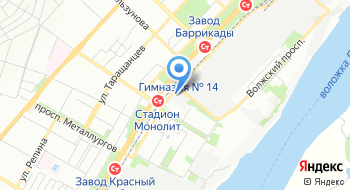 Легион Волга на карте