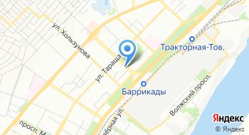 Волгоградская региональная молодёжная общественная организация Интеграл на карте
