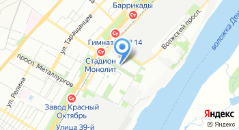 ОП №2 УМВД России по г. Волгограду на карте