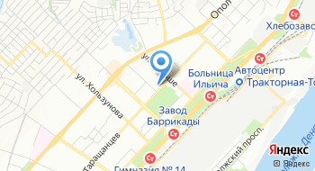 Краснооктябрьский РОСП на карте