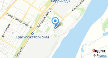 Волгоградский региональный ботанический сад на карте