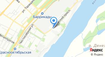 Отделение почтовой связи Волгоград 400016 на карте