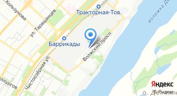 Деловой квартал на карте