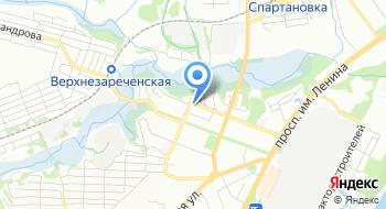 Отдел военного комиссариата Волгоградской области по Краснооктябрьскому и Тракторозаводскому району города Волгограда на карте