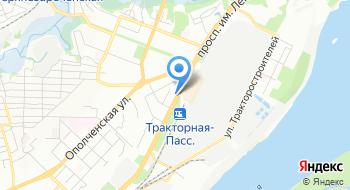 УФМС, отдел в Тракторозаводском районе на карте
