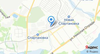 Профизол на карте