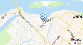 Энгельсское отделение центра государственной инспекции маломерных судов по Саратовской области Дебаркадер на карте