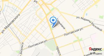 Нотариус Сацков А. В. на карте
