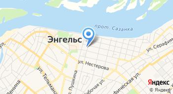 ОГИБДД МУ МВД РФ Энгельсское Саратовской области на карте
