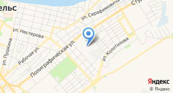 ГАУ Саратовской области Энгельсский дом-интернат для престарелых и инвалидов Второй корпус на карте