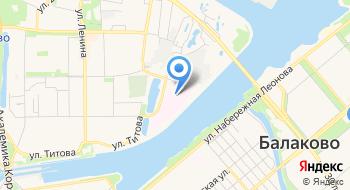 Балаковский Перинатальный центр на карте