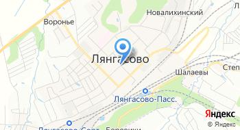 РЖД ВРК-1 ВЧДР Лянгасово на карте