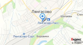 Магазин АвтоМакс Лянгасово на карте