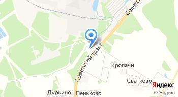 Автомобильно-газонаполнительная компрессорная станция на карте