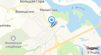 Мега-Сервис на карте