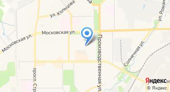 Моау Лицей № 21 г. Кирова на карте