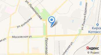 Санаторий-профилакторий Вятский государственный университет на карте