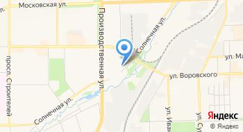 КОГОАУ СПО Колледж промышленности и автомобильного сервиса, общежитие на карте