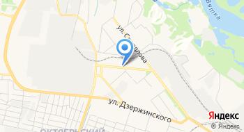 Отделение почтовой связи Киров 610011 на карте