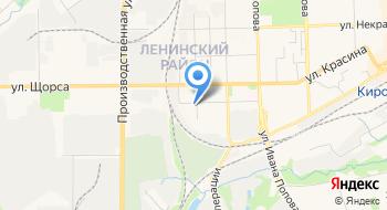Когбуз Кировская клиническая больница № 7 им. В. И. Юрловой на карте