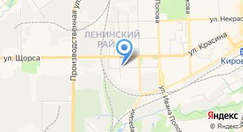 Отдел УФМС России по Кировской области в Ленинском районе г. Кирова на карте