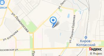 Территориальный центр медицины катастроф Кировской области Когкуз на карте