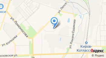 Отделение молочной кухни, КОГБУЗ Детский клинический консультативно-диагностический центр на карте