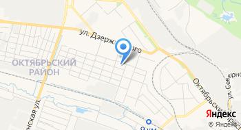 Компания Техокруг на карте