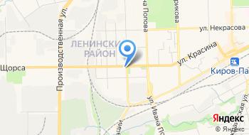 Фирменный торговый павильон Хлебозавод №5 на карте