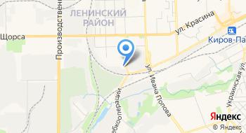 Управление по Кировской области филиала ФГУП РЧЦ ЦФО в Приволжском федеральном округе на карте