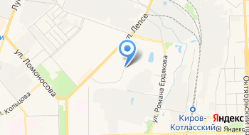 Газель 43.РФ на карте