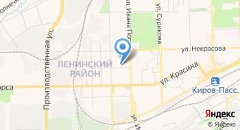 Детская музыкальная школа №4 г. Кирова МБОУ ДОД на карте