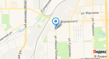 Государственная инспекция по надзору за техническим состоянием самоходных машин и других видов техники Кировской области на карте