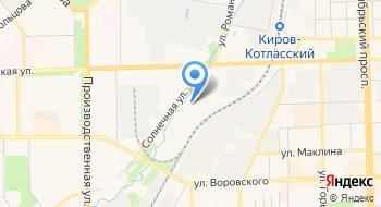 Шинно-сервисный центр 100 Колес на карте