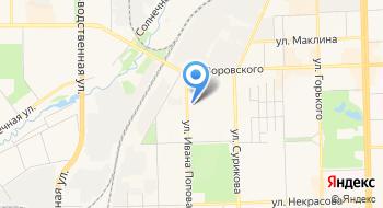 Кировохота на карте