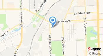 Общежитие КОГПОАУ Кировского Технологического колледжа пищевой промышленности на карте