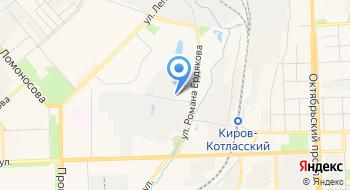 Крановой на карте