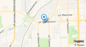 Пульт централизованной охраны Андромеда на карте
