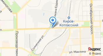 Ламинат Киров на карте