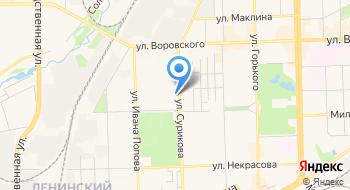 Слана на карте