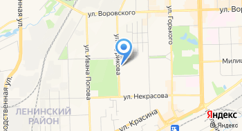 Отделение почтовой связи Киров 610035 на карте