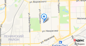 Жилищно-строительный кооператив Бытовик-2 на карте