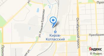 Автосервис Киров-II на карте