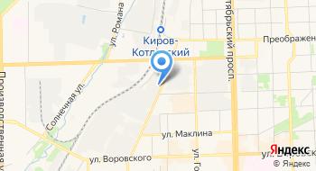 Фку Главное бюро медико-социальной экспертизы по Кировской области Минтруда России на карте