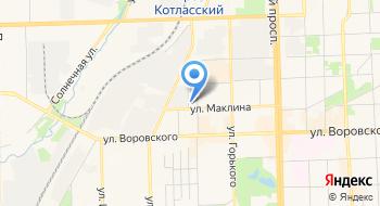 Главное управление МЧС России по Кировской области на карте