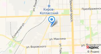 Кировгипрозем на карте