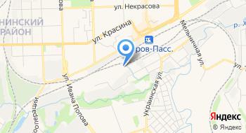 Кировское ТПО, Нижегородский филиал Железнодорожная торговая компания на карте